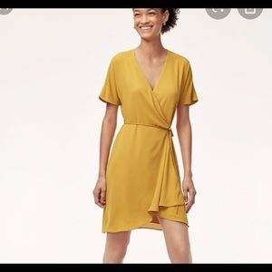 Aritzia Babaton Wallace Wrap Dress